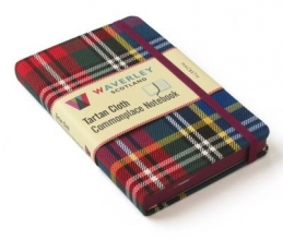 Waverley Scotland Macbeth: Waverley Genuine Tartan Cloth Commonplace Notebook