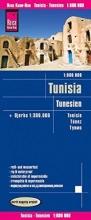 , Reise Know-How Landkarte Tunesien (1:600.000) mit Djerba (1:300.000)