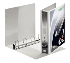 , Presentatieringband Leitz SoftClick A4 Maxi 4-rings D-mech 40mm wit