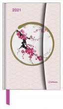 , Agenda 2021 teneues japanese papers links week rechts notitie 10x15 cm magneetsl