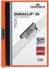 , Klemmap Durable 2200 A4 3mm oranje
