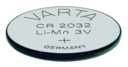 , Batterij Varta knoopcel CR2032 lithium blister à 5stuk