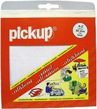 , Pickup Letters 30mm Zwart