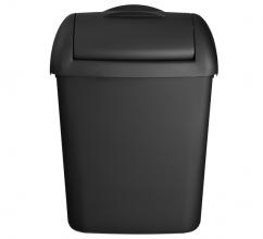 , Afvalbak euro quartz 8l zwart