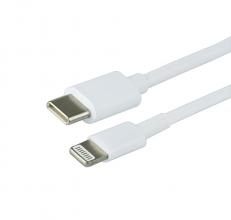 , Kabel Green Mouse USB Lightning-C 1 meter wit