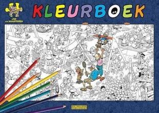 , Jan van Haasteren kleurboek