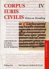 , Corpus Iuris Civilis IV Digesten 25-34