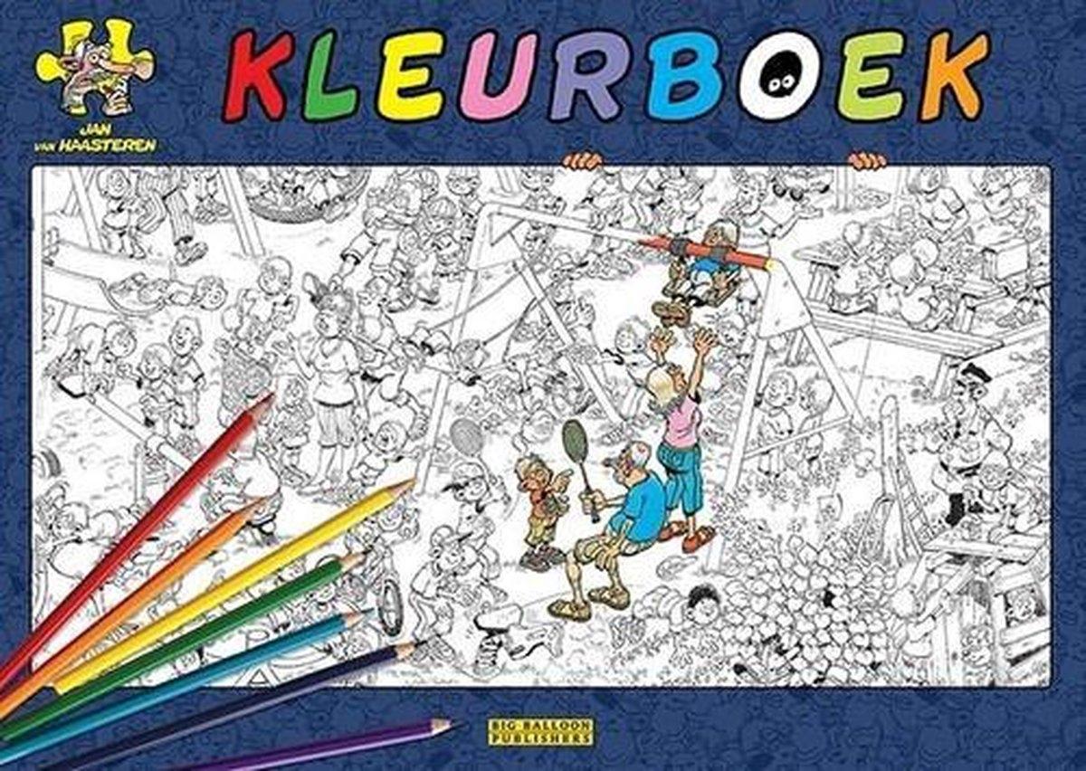,Jan van Haasteren kleurboek