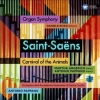 c. Saint-saens, Cd saint-saens organ symphony /carnival of the animals