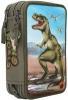 ,<b>Dino world 3 vaks etui met led</b>