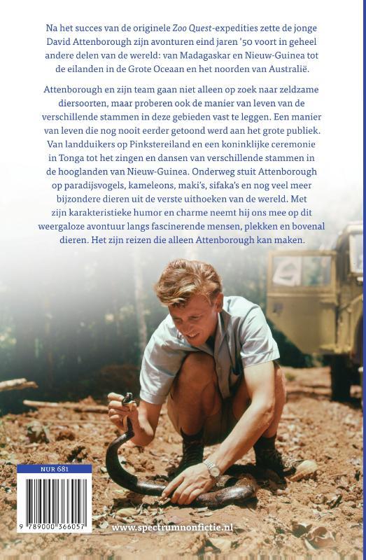 David Attenborough,Reizen naar de andere kant van de wereld