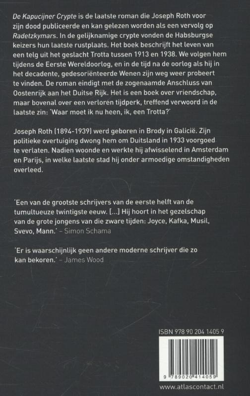 Joseph Roth,De Kapucijner Crypte