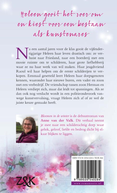 Anne van der Valk,Bloemen in de winter