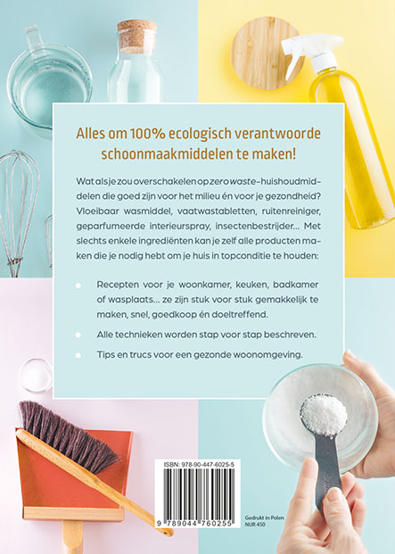 Severine JERIGNE,Natuurlijke schoonmaakmiddelen om zelf te maken