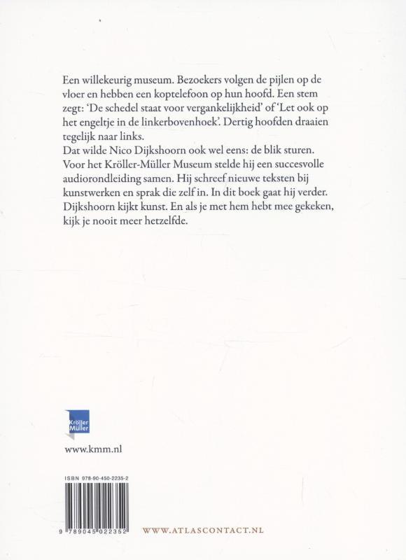 Nico Dijkshoorn,Dijkshoorn kijkt kunst