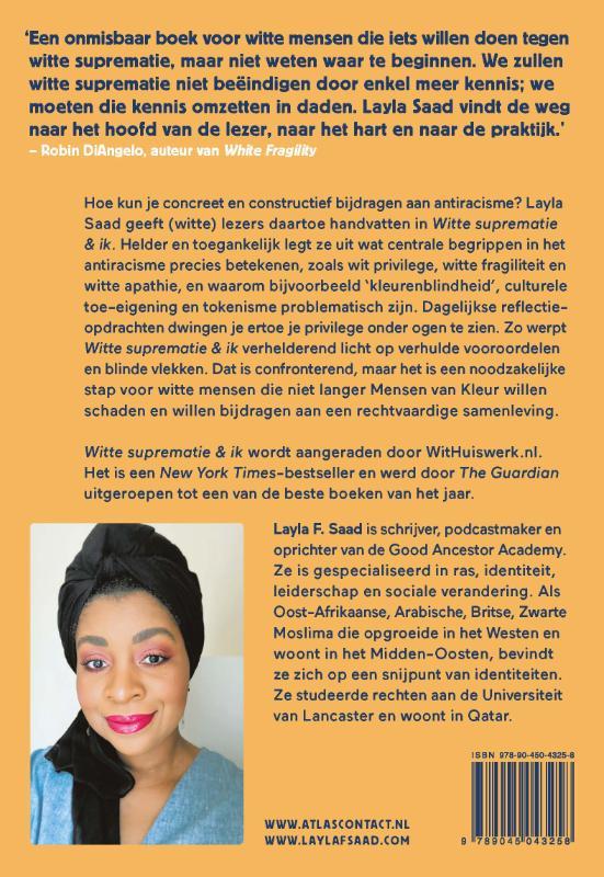 Layla Saad,Witte suprematie & ik