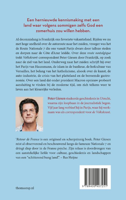 Peter Giesen,Retour de France