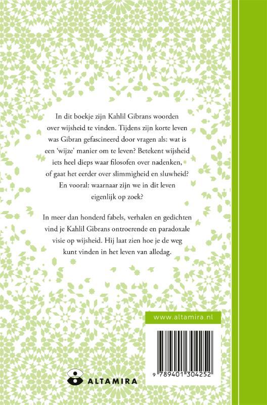 Kahlil Gibran, Neil Douglas-Klotz,Een boekje over wijsheid