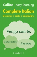 Collins Dictionaries Complete Italian Grammar Verbs Vocabulary