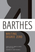 Barthes, Roland Writing Degree Zero