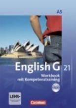 Seidl, Jennifer,   Schwarz, Hellmut English G 21. Ausgabe A 5. Workbook mit Audios online