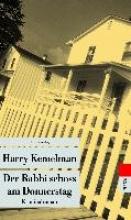 Kemelman, Harry,   Stege, Gisela Der Rabbi schoss am Donnerstag