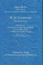 M. Ju. Lermontov (1814-1841). Interpretationen