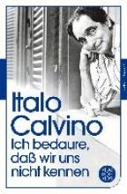 Calvino, Italo Ich bedaure, daß wir uns nicht kennen