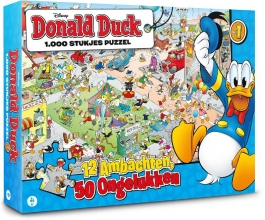 , Donald Duck puzzel 1