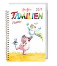 Heine, Helme Helme Heine Familienplaner Buch A6 - Kalender 2017