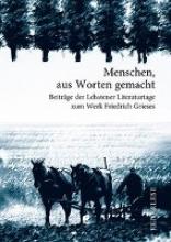 Schürmann, Monika Griese - Menschen aus Worten gemacht