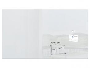 , glasmagneetbord XL Sigel Artverum 2400x1200x18mm super wit