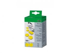 , waardemunten Sigel kunststof 100 stuks 25mm eten geel