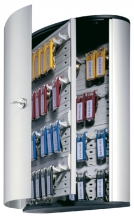 , Sleutelkast Durable 54haken 302x280x118mm aluminium