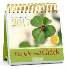 Ein Jahr voll Glück 2017 Postkartenkalender