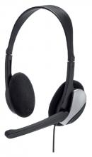 , Hoofdtelefoon Hama HS-P100 On Ear zwart