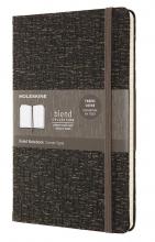 , Moleskine LE Notitieboek Blend AW19 Large (13x21 cm) Gelinieerd Brown