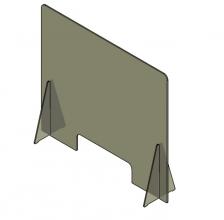 , Baliescherm Quantore 100x70cm transparant