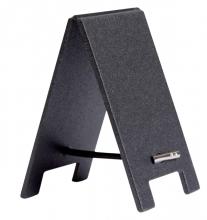, Krijtbord securit mini tafel set 5 stuks zwart