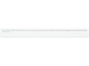 , liniaal Aristo 50cm glashelder plexiglas