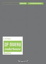 Kraaijeveld Op niveau 3 vwo Uitwerkingenboek/modulair