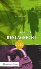 H.G. Punt , Memo beslagrecht 2020
