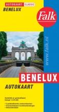 , Falk autokaart Benelux classic