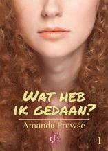 Amanda  Prowse Wat heb ik gedaan? - grote letter uitgave