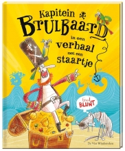 Fred  Blunt Kapitein Brulbaard in het verhaal met een staartje