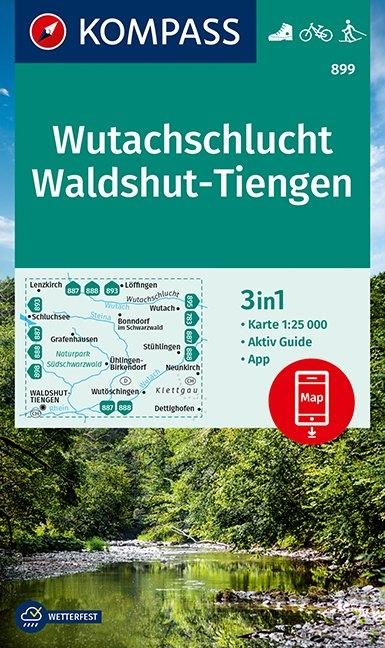 ,Kompass WK899 Wutachschlucht, Waldshut