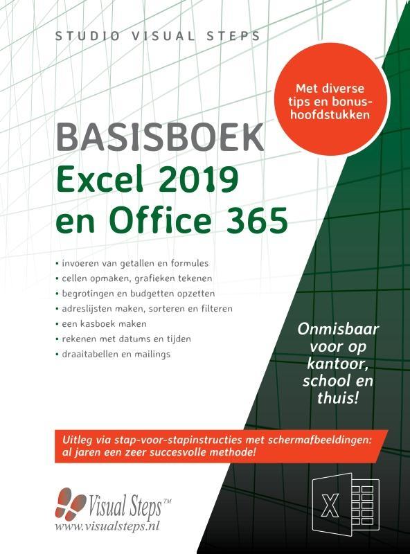 Studio Visual Steps,Basisboek Excel 2019, 2016 en Office 365
