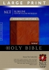 ,Slimline Center Column Reference Bible-NLT-Large Print Compact