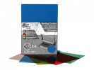 ,schutbladen ProfiOffice A4 200 micron 100 stuks transparant blauw