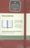 ,Moleskine 12 month planner - weekly - pocket - scarlet red - hard cover